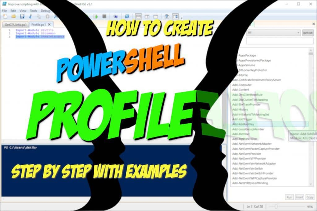 How To Create PowerShell Profile Step by Step with Examples