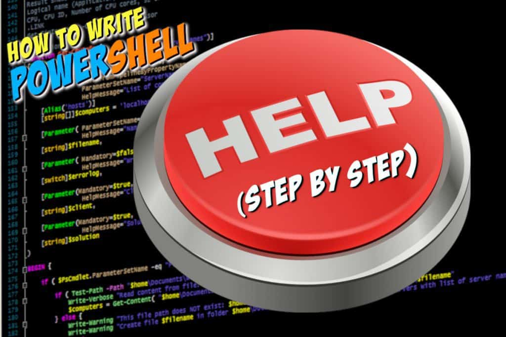 How to Write PowerShell Help Step by Step Featured